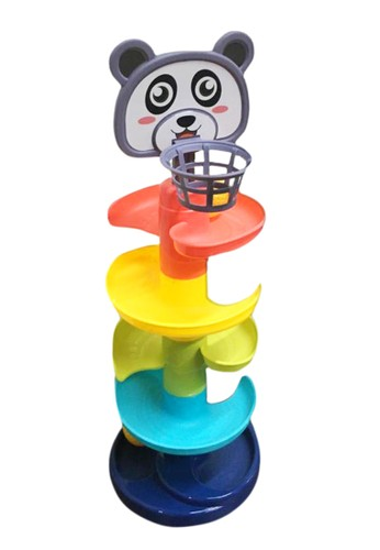 figoltoys Mainan Basket Anak Track Bola Baby Whirl Ball Tower 03B66TH4EBFC72GS_1