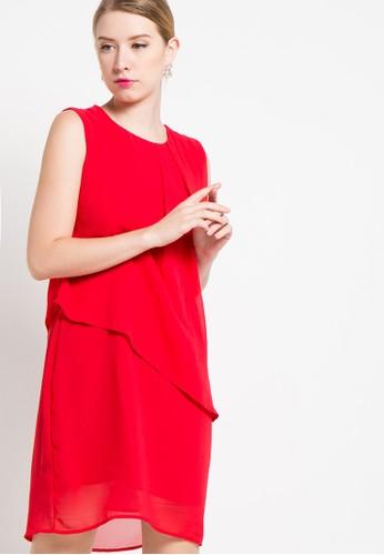 sophistix red Novita Dress In Red SO829AA81YSCID_1
