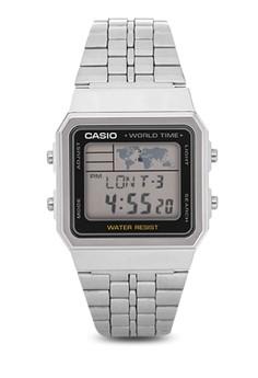 Square Digital Watch A500WA-1D