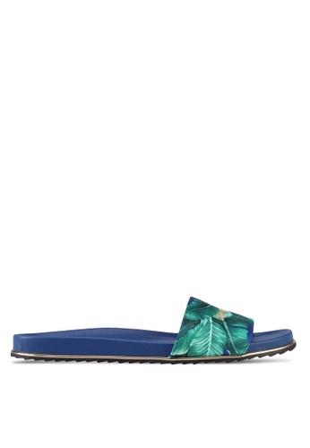 VINCCI navy Slide On Sandals 46EE7SHF4F4263GS_1
