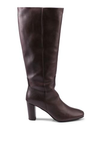 Vero Moda 褐色 Mariana 皮革 Boots A4081SH3806675GS_1
