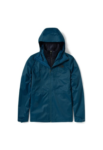 The North Face blue The North Face Men's Arrowood Triclimate Jacket Monterey Blue/ Aviator Navy 2B519AA48786D5GS_1