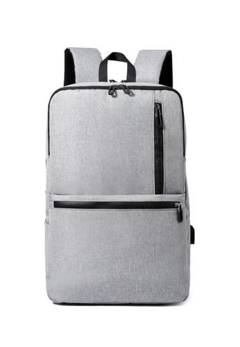 Lara black Men's Stylish Wear-resistant Breathable Business Laptop Backpack School Bag - Black 5802DACF99E3A7GS_1