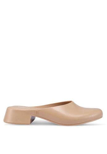 Melissa 米褐色 Melissa Zen Ad 高跟鞋 4A80CSH4ED67B5GS_1