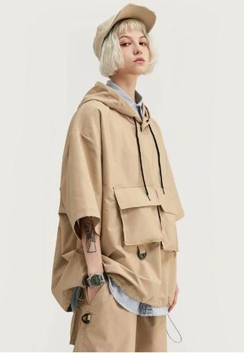 Twenty Eight Shoes Loose Casual Hooded Short T-shirt 1061S20 5EADBAA2DBD103GS_1