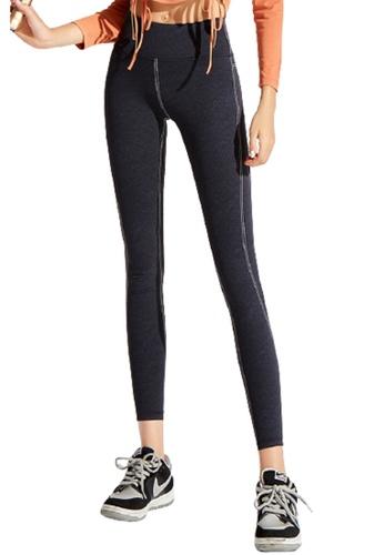 Trendyshop black High-Elastic Fitness Leggings 18D6CUSC2DABABGS_1