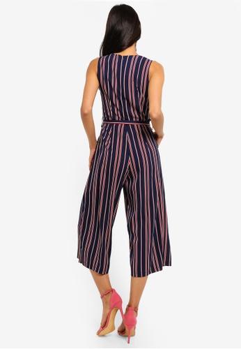 1a58276ffec Shop Mela London Nautical Stripe Culotte Jumpsuit Online on ZALORA  Philippines