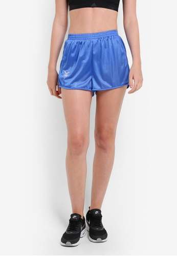 FBT blue Straight Cut Running Shorts FB961AA81EYSMY_1