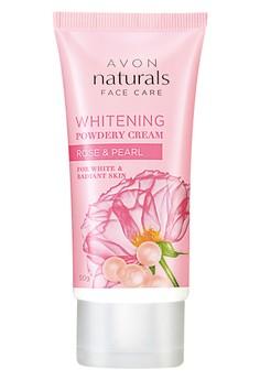 Avon Naturals Rose and Pearl Whitening Powdery Cream