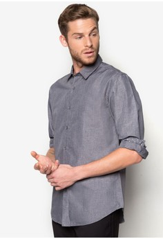 Solid Colour Long Sleeve Shirt
