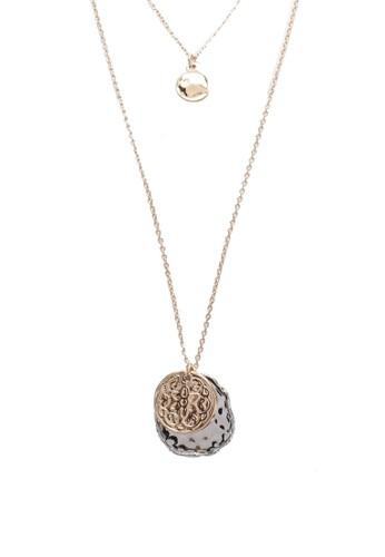 Mango gold Pendant Chain Necklace F414DAC3A7D805GS_1