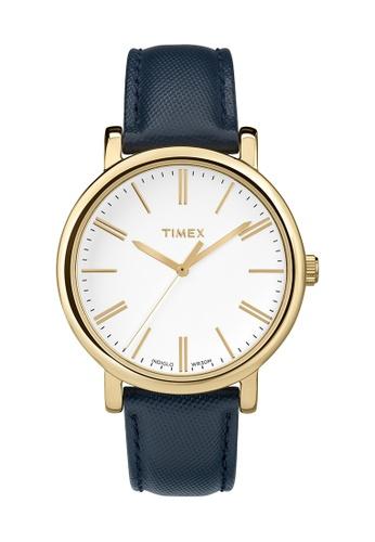 TIMEX blue Timex Original®  Modern Classic Round - TW2P63400 TI205AC0RFM4MY_1
