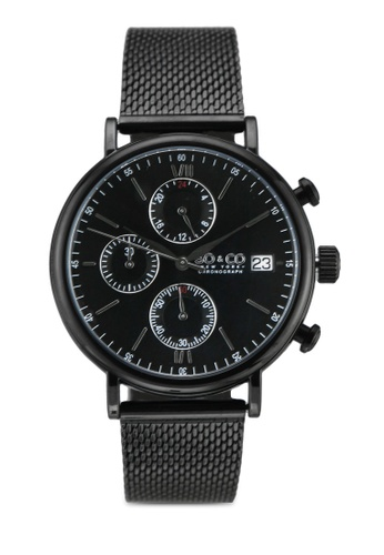 SO&CO black Monticello Watch 5266M 774F5ACD121704GS_1