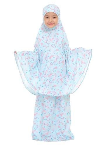 SITI KHADIJAH blue Siti Khadijah Telekung Deco Sofea Cilik in Blue FE44DAAE573CA1GS_1