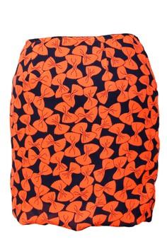 Ribbons Mini Skirt