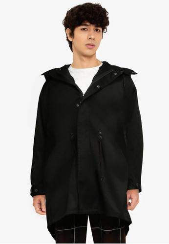 niko and ... black Woven Jacket D5ED6AA2429F14GS_1