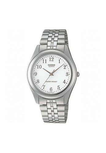 Casio silver CASIO GENERAL MTP-1129A-7BRDF SILVER STAINLESS STEEL MEN'S WATCH 8597AACD87C942GS_1