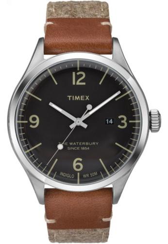 Timex black Timex The Waterbury 40mm TW2P956 17E31AC6F58A43GS_1
