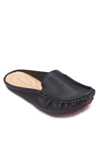 仿皮休閒拖鞋, zalora taiwan 時尚購物網鞋子女鞋, 鞋