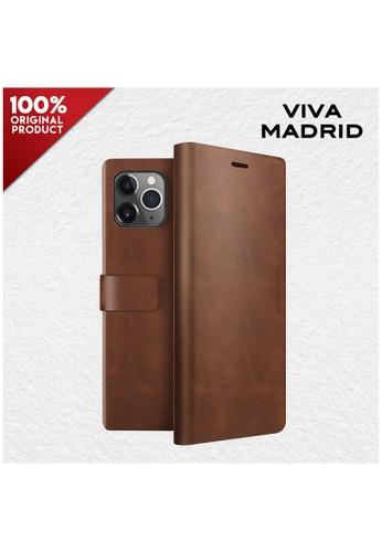 "Viva Madrid brown Folio Case iPhone 12 Pro Max 6.7"" Viva Madrid Finura - Russet 3827DES844E33EGS_1"