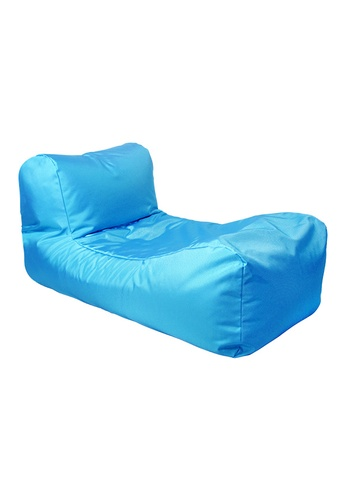 doob blue SPLOOSH ALFRESCO - outdoor doob bean bag recliner (Caribbean Blue) 71FEFHL37625F7GS_1