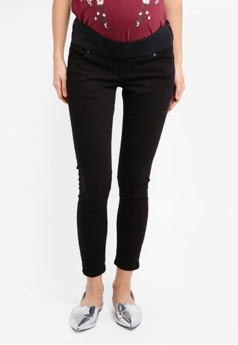TOPSHOP black Maternity Black Jamie Jeans TO412AA0SRSQMY_1
