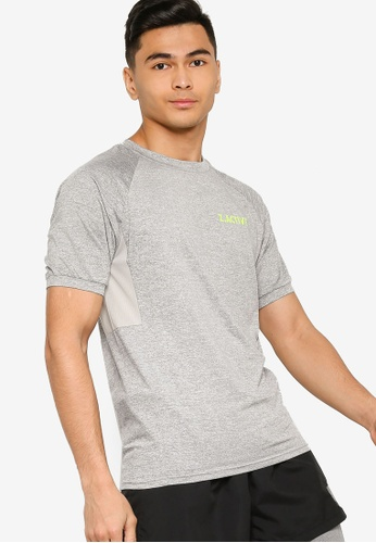 ZALORA ACTIVE grey Active Training T-shirt 1B9D2AAB652E55GS_1
