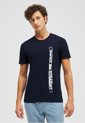 Sisley Printed T-shirt D97DDAAF29DBD1GS_1