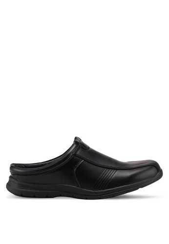 Bata black Bata Slip On Loafers D3CAASHA88CE78GS_1