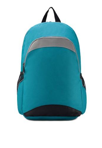 基本款拼色後背包, 包, zalora 泳衣後背包