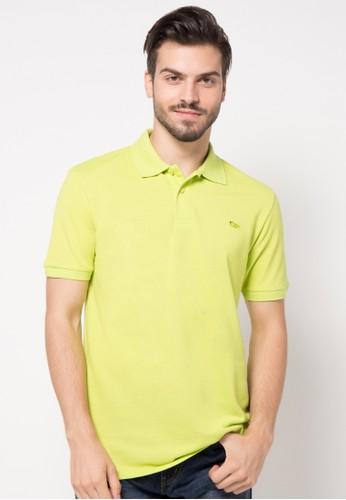 WALRUS yellow Basic Couple Polo Shirt WA705AA52LUXID_1