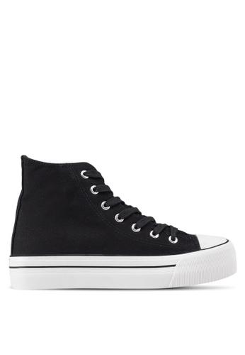 Rubi 黑色 Platform Jemma High Top Sneakers FD8E0SH25C2066GS_1