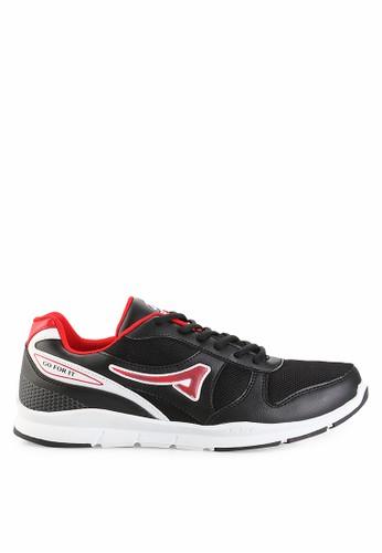 Ardiles black Men Equal Sneakers Shoes AR073SH0UM1UID_1