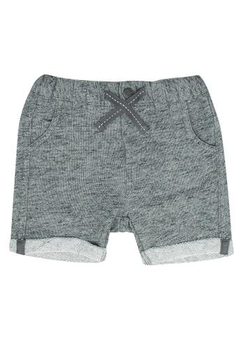 FOX Kids & Baby grey Baby Boy Melange Shorts 76491KA70E49F7GS_1