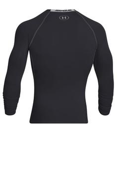 47e052fe 20% OFF Under Armour Men's UA HeatGear® Armour Long Sleeve Compression  Shirt RM 185.00 NOW RM 147.90 Sizes S M L XL