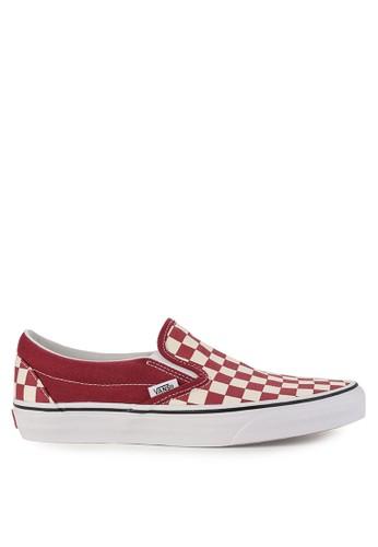 Vans red and multi Ua Classic Slip A88BBSH63E4DA6GS 1 da04d7fb2b