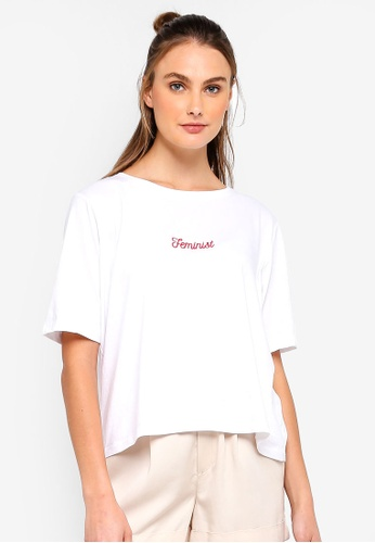 Cotton On Body white Boxy T-Shirt 860FDAA4079086GS_1