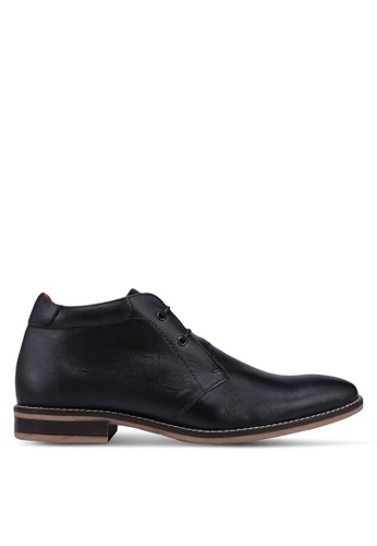 Acuto black Leather Boots 7A939SH5B8A181GS_1
