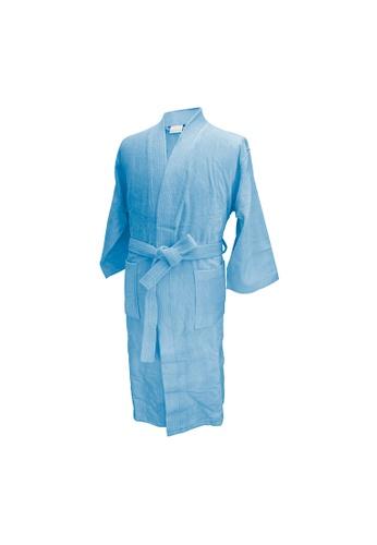 Charles Millen Charles Millen Bathrobe Kimono Style ( light weight, Stylish Robe ). E31B7HL4ED2048GS_1