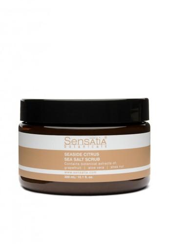 Sensatia Botanicals n/a Sensatia Botanicals Seaside Citrus Sea Salt Scrub - 300 gr 31E4ABEE027838GS_1