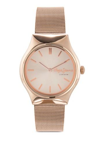 R2353113501 Joesprit 手錶ey 網眼不銹鋼女錶, 錶類, 飾品配件