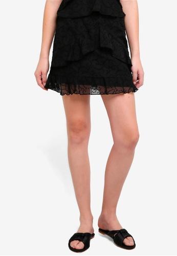 The Fifth Label black Rhythm Skirt 45AA8AA4C3D196GS_1