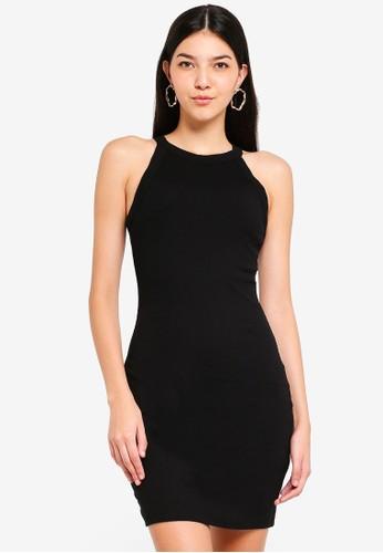 Supre black High Neck Mini Dress 0D6E1AAA4FDC41GS_1