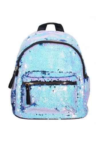 Adkidz blue Adkidz Sparkly Sequin Backpack 72735KCA9CB9A7GS_1