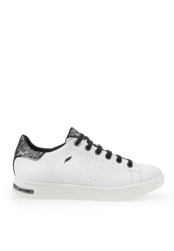 Geox white Jaysen Sneaker A9E1ESHB7689F1GS_1