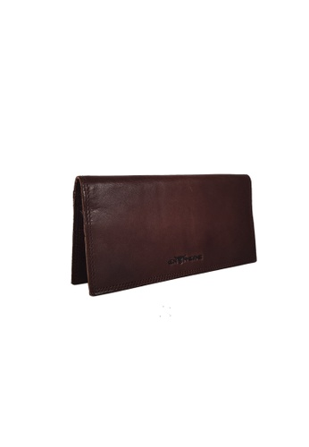 EXTREME brown Extreme Genuine Leather Long Wallet 90E3BACE12E3AFGS_1