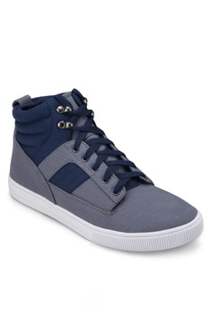 Two - Colours High Top Sneakers