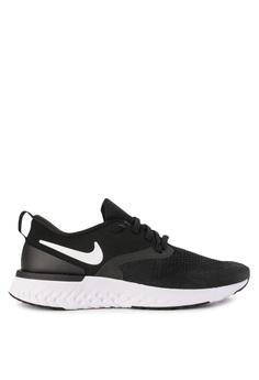 ee54e9bc4e673 Nike black Nike Odyssey React Flyknit 2 Shoes 52458SHC463483GS 1