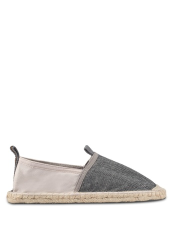 Superdry grey Premium Espadrille 69C81SH920CD30GS_1