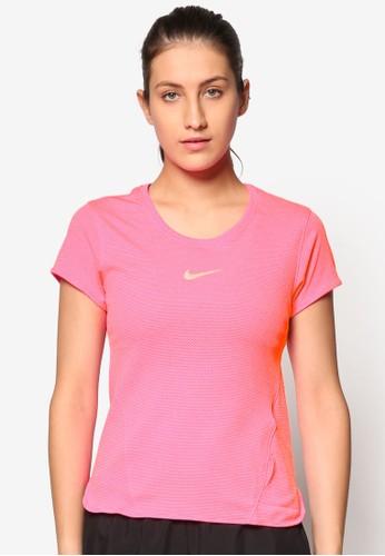 Nike pink Women's Nike AeroReact Running Top NI126AA47TCQMY_1